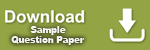 Download sample question papers in pdf format